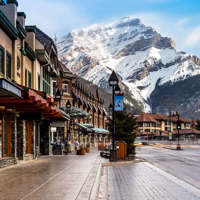Downtown Banff, Alberta