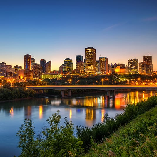 Edmonton River Valley Summer