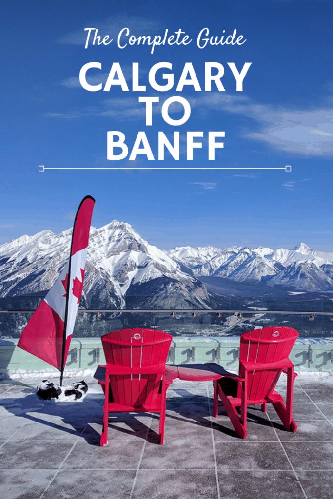 Calgary to Banff Pin