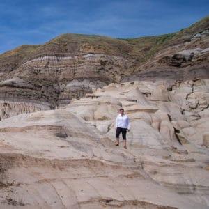 Alberta Sandstone Formations near Drumheller
