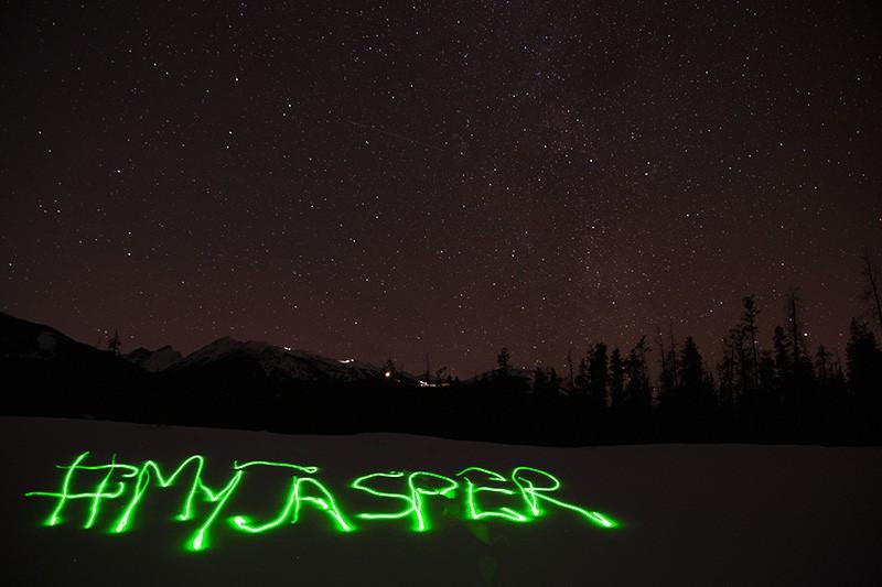 Jaxper night sky.