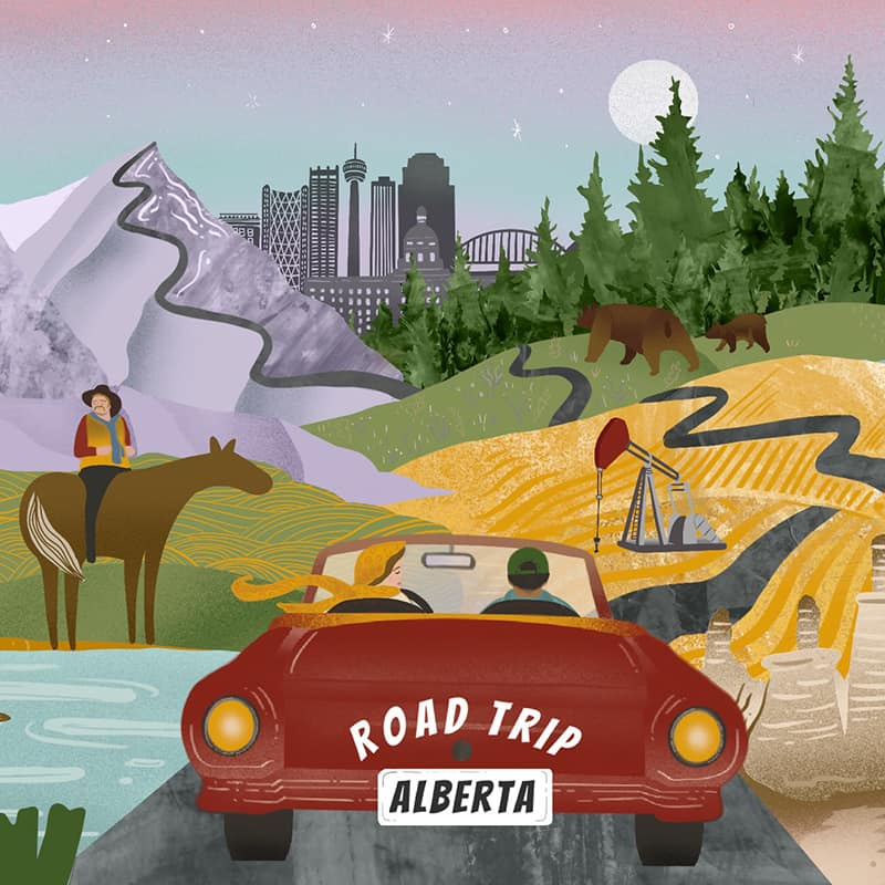 Introducing Road Trip Alberta Bingo Cards!