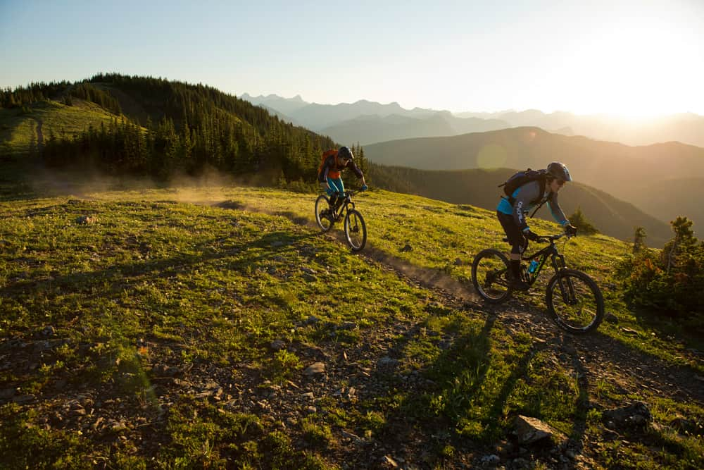 Epic mountain biking near Bragg Creek