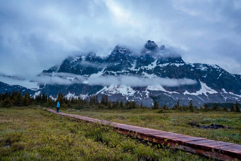 Tonquin Valley, a popular hike in Jasper