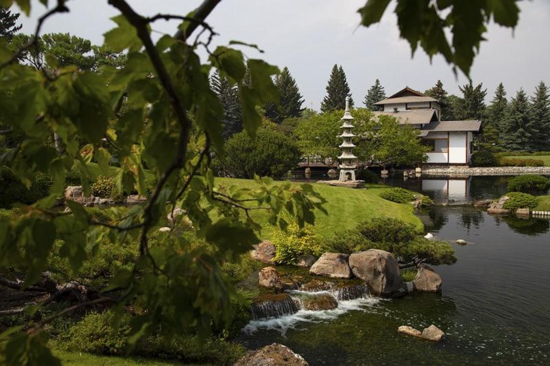 Nikka Yuko Japanese Garden, Lethbridge Alberta