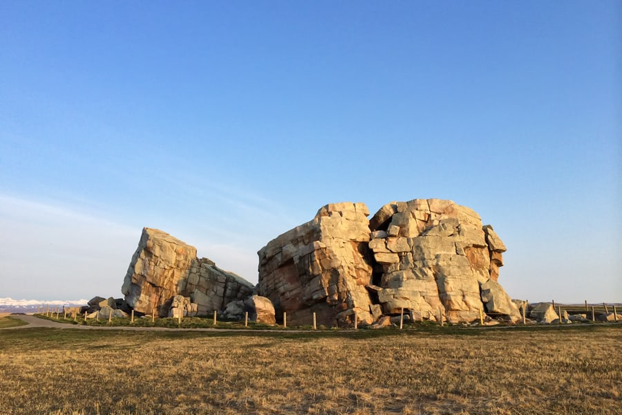 The Okotoks glacial erratic - an Alberta natural wonder