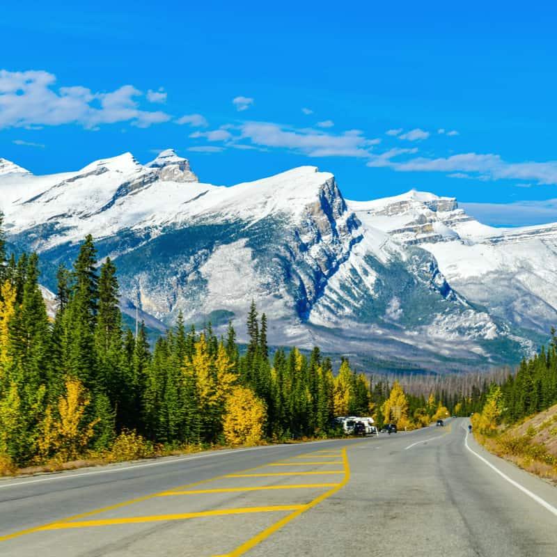 The best Alberta road trips