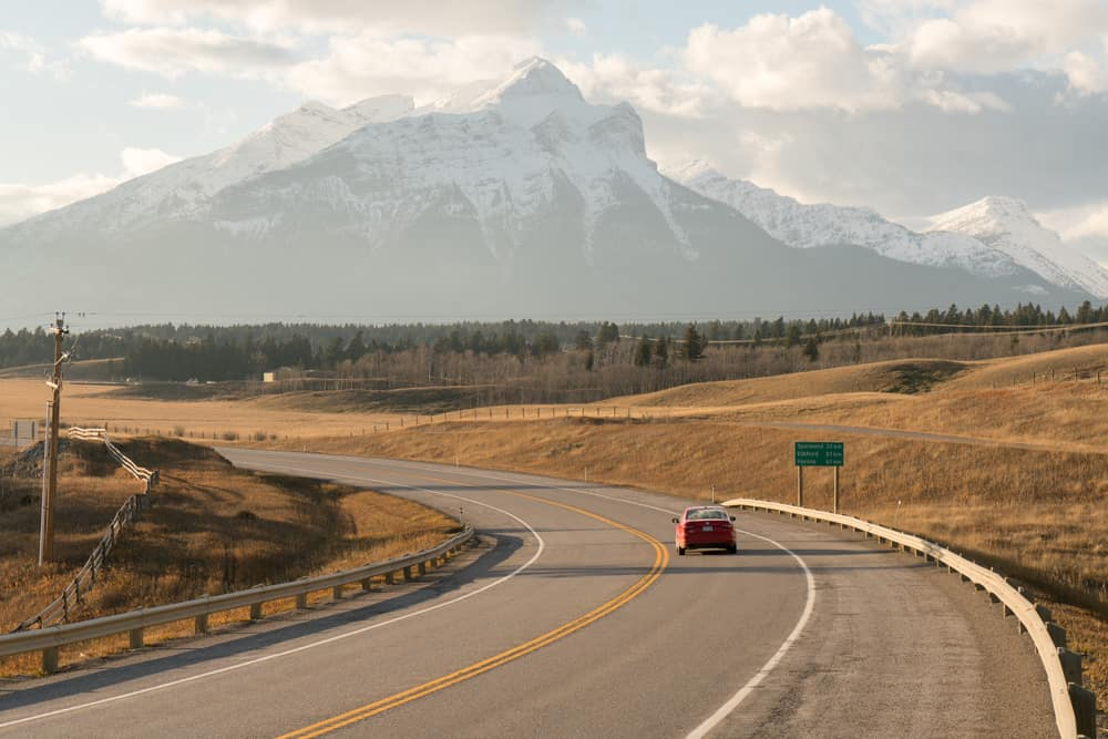 Road trip through Crowsnest Pass, Alberta