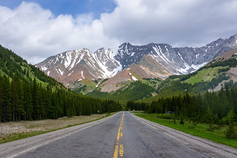 Highwood Pass Alberta