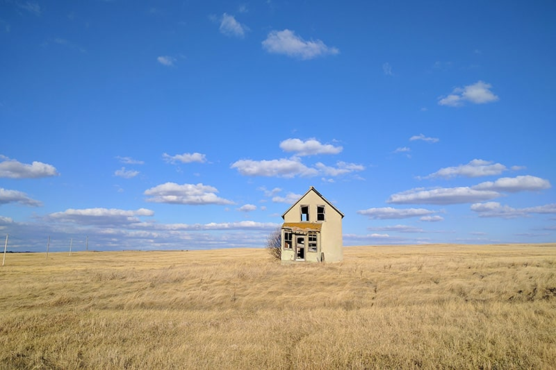 Prairie Scene Hanna Alberta