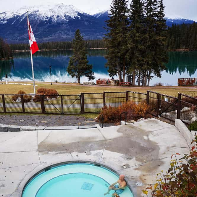 Jasper Park Lodge Pool