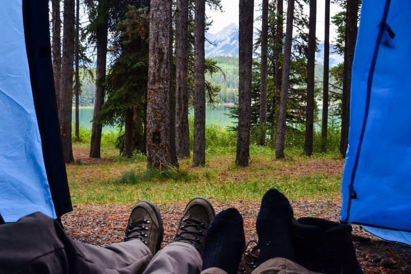 Alberta crown land camping