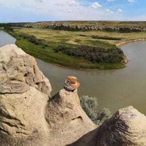 Writing on Stone Provincial Park