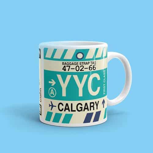 Calgary YYC Coffee Mug