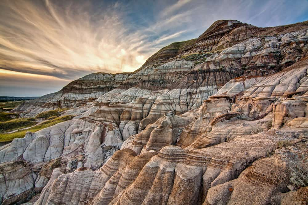 The unique landscape of Dinosaur Provincial Park