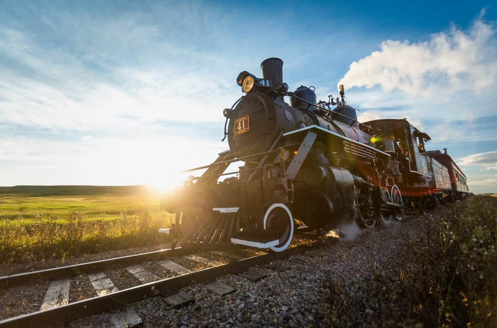Stettler Steam Train at Alberta Prairie Railway