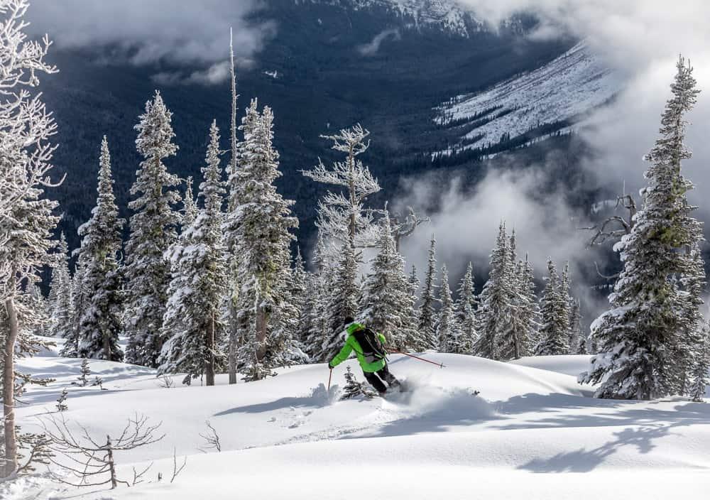 Castle Mountain Skiing