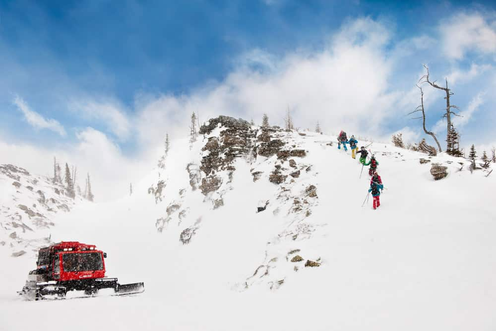 Cat Skiing at Castle Mountain