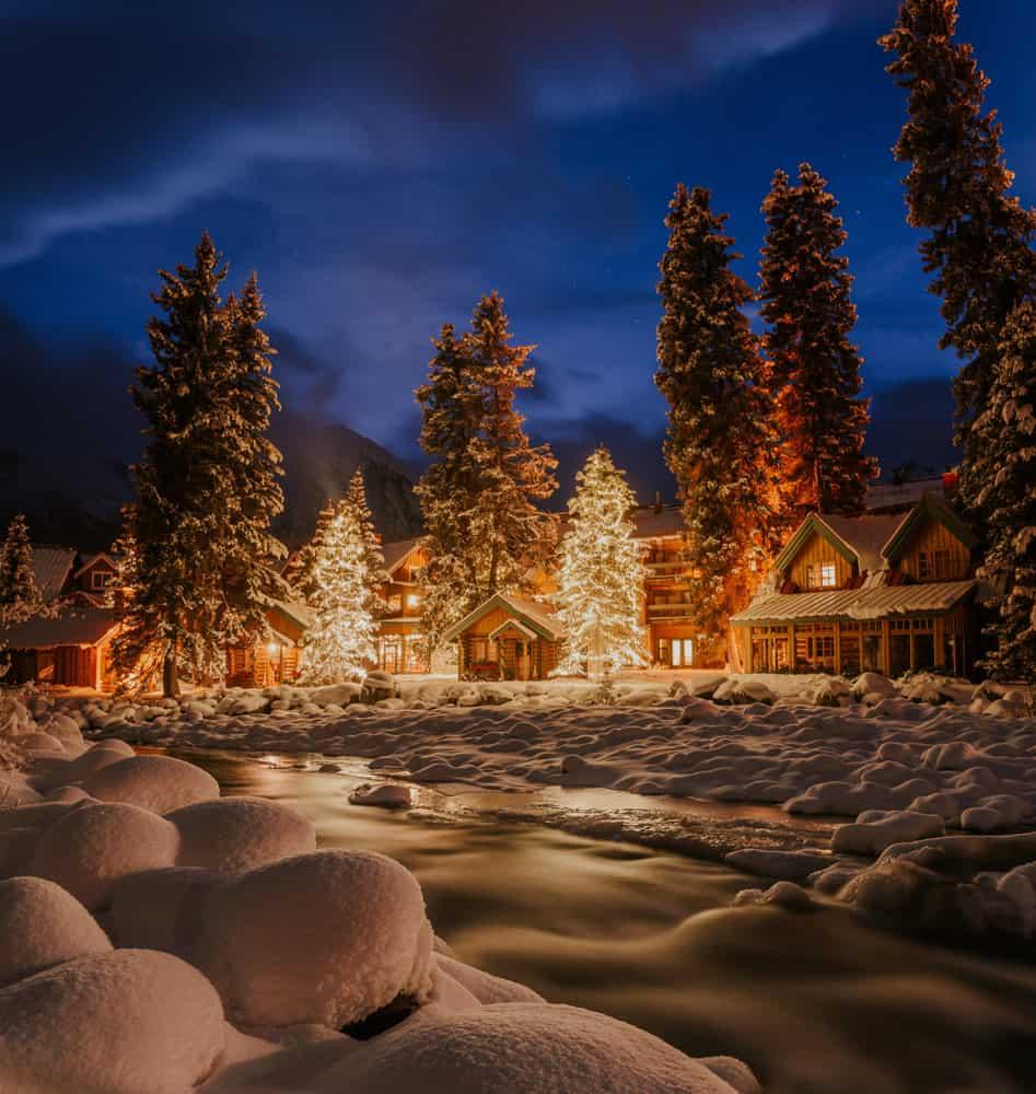 Christmas in Lake Louise