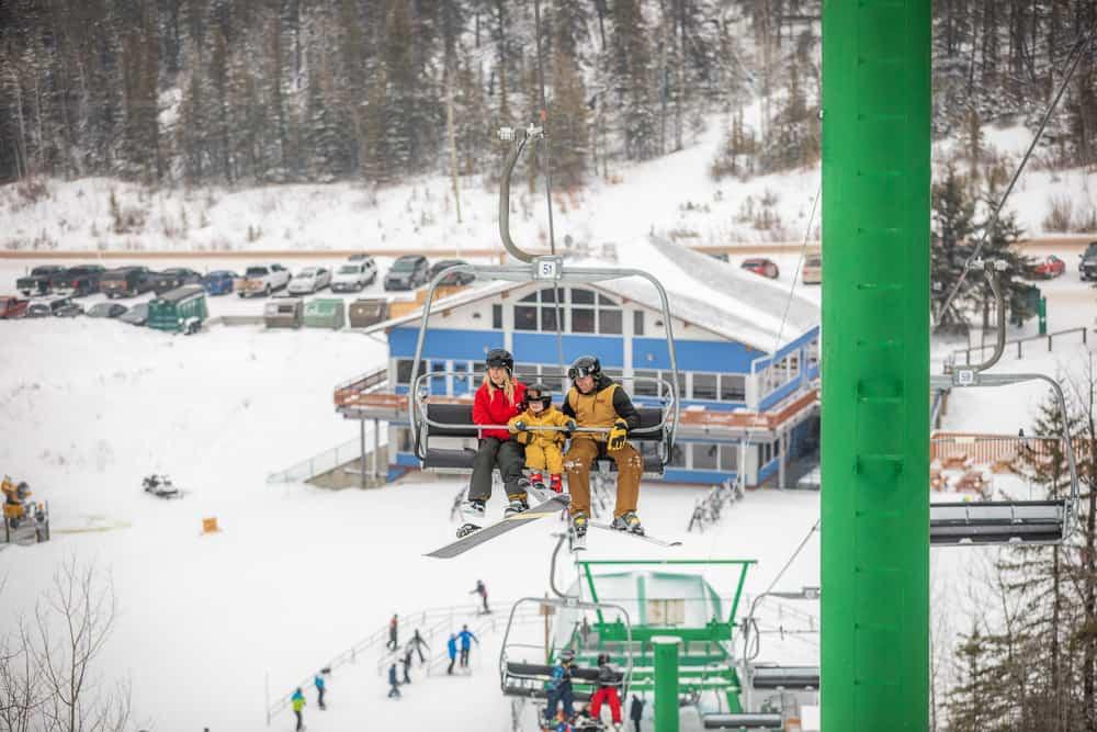 Hidden Valley Ski Resort in Southern Alberta