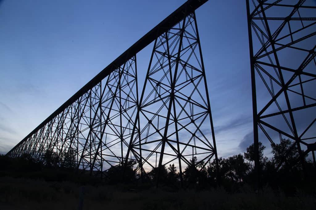High Level Bridge Lethbridge Alberta