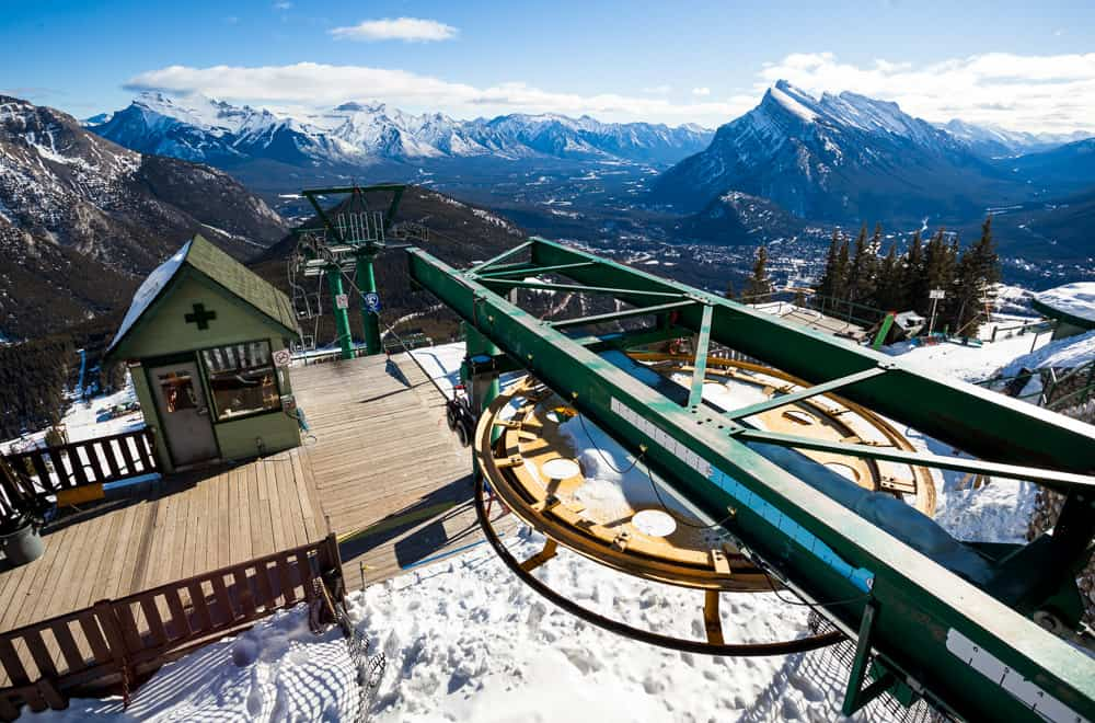 Mt Norquay Ski Resort in Banff, Alberta