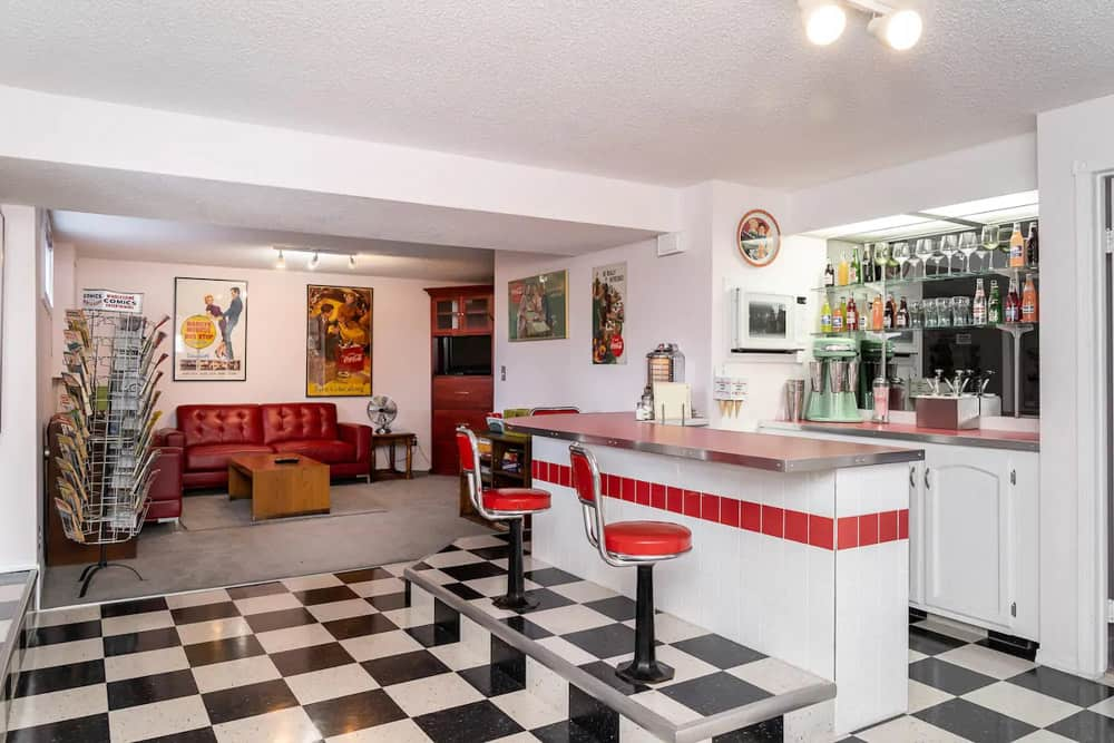 The Soda Shop Calgary Airbnb