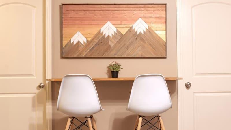 2 bedroom guest suite Airbnb in Lethbridge
