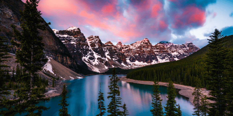 Banff National Park Alberta facts