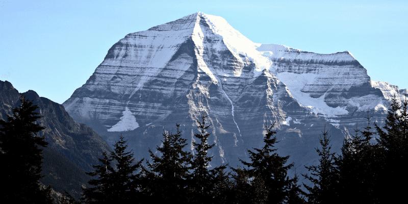Alberta tallest mountain