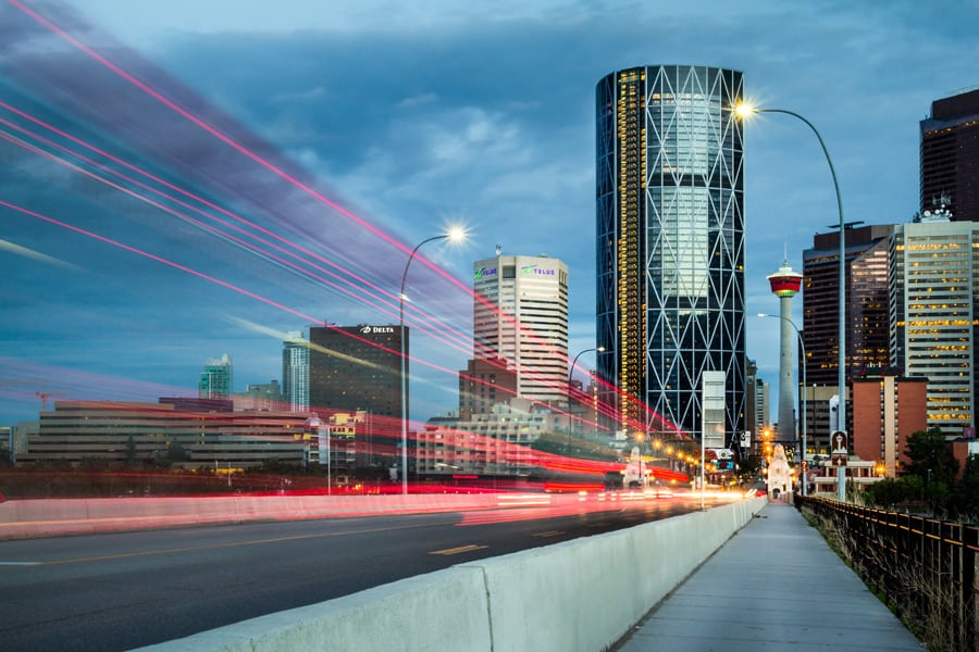Calgary Centre Street Bridge
