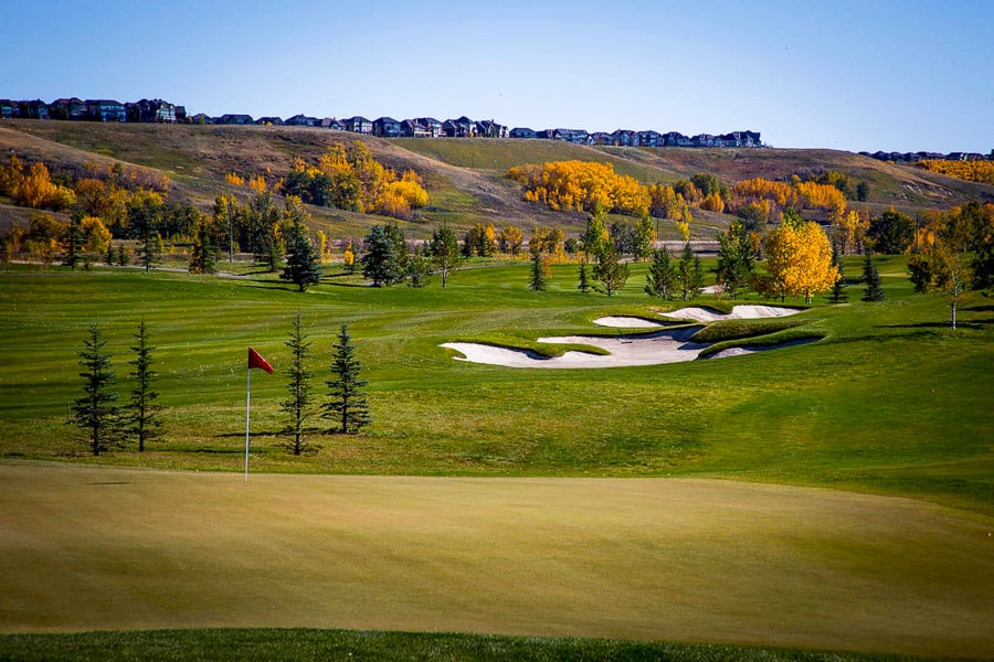 Alberta Golf Courses - Blue Devil Golf Club - Calgary, AB