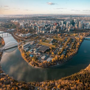 Edmonton Aerial View