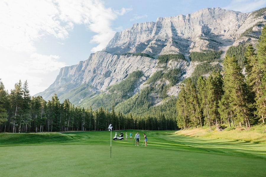 Alberta Golf Courses - Fairmont Banff Springs Golf Course - Banff, AB