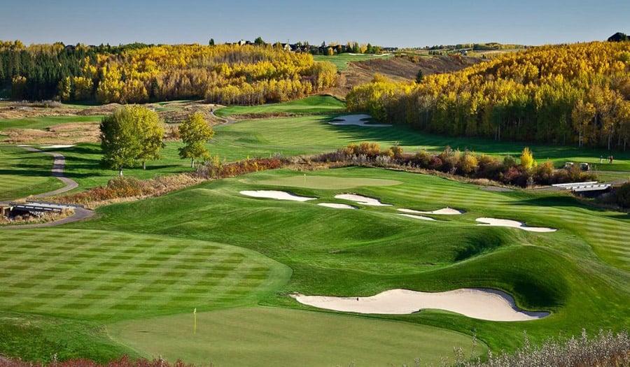Alberta Golf Courses - Heritage Pointe Golf Club - Calgary, AB