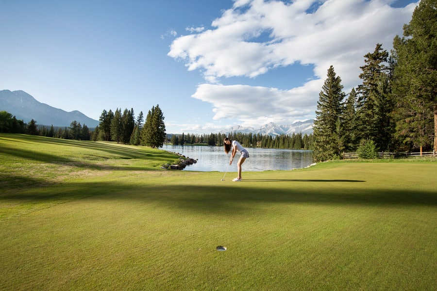 Alberta Golf Courses - Jasper Park Lodge Golf Course - Jasper, AB