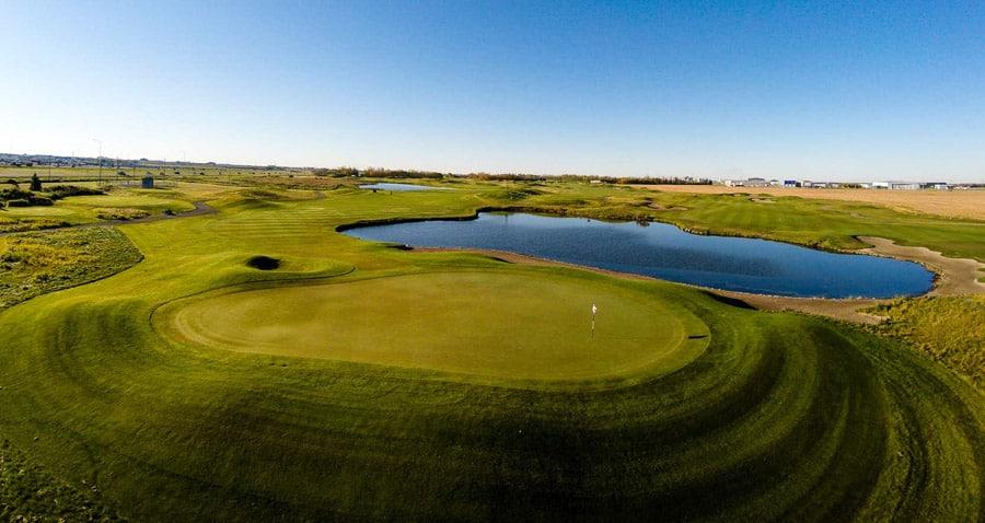 Alberta Golf Courses - RedTail Landing Golf Club - Edmonton, AB