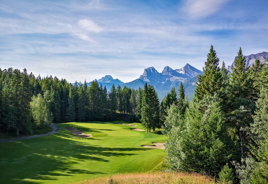 Alberta Golf Courses - Silver Tip Golf Resort - Canmore, AB