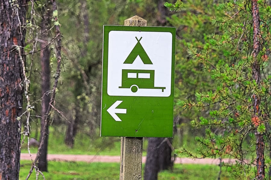 Belly River Campground Waterton