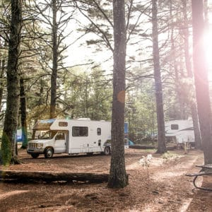 Camping in Waterton