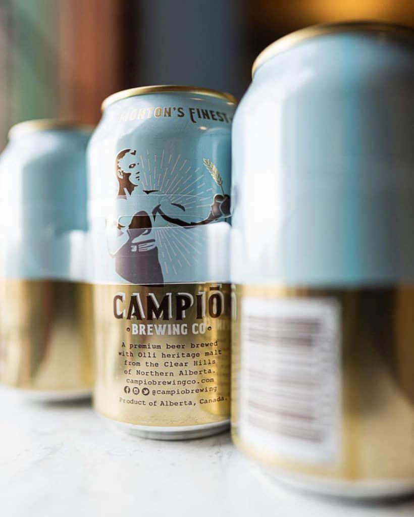 Campio Brewing Edmonton