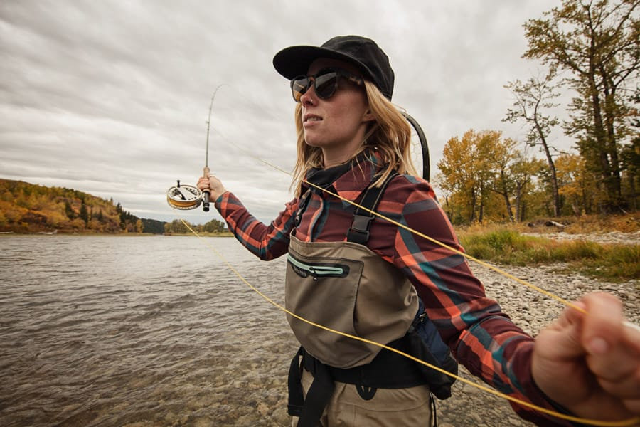 Fly Fishing on Bow River