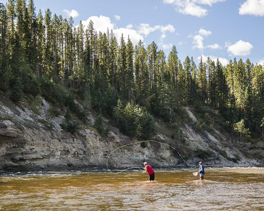 Fly Fishing on the Berland River