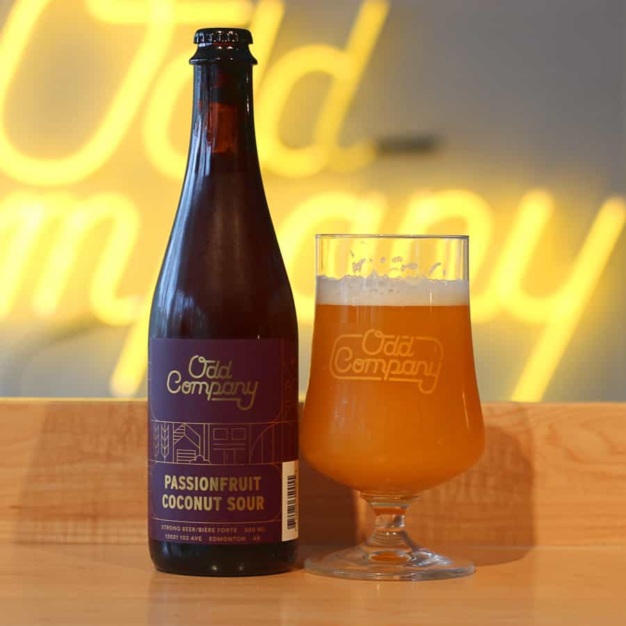 Odd Company Brewing Passionfruit Coconut Sour