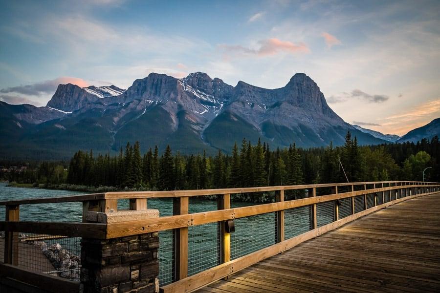 Bridge in Canmore, Alberta