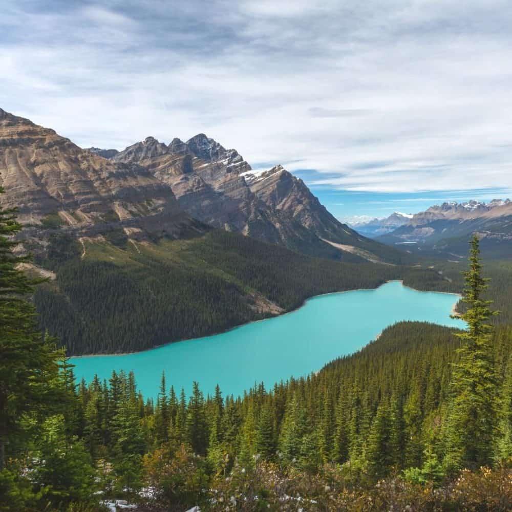 Lakes in Alberta Feature