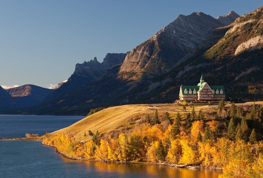 Prince of Wales Hotel in Waterton