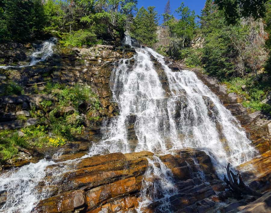 Lower Bertha Falls - Waterton Lakes National Park