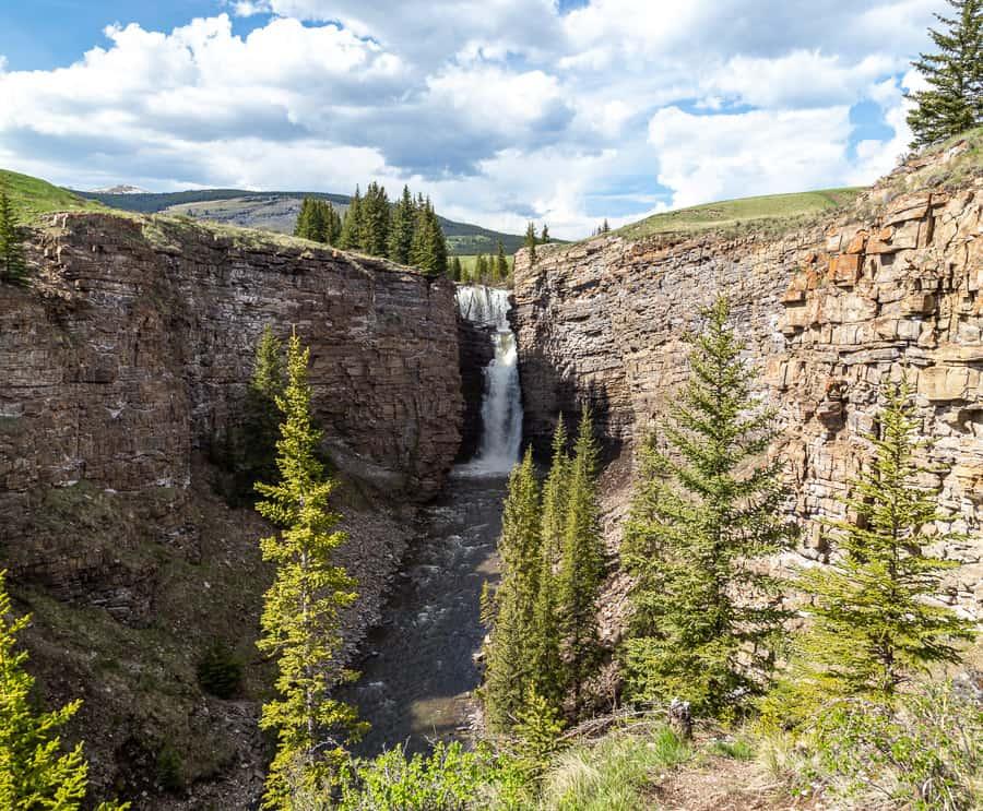 Big Horn Falls near Sundre
