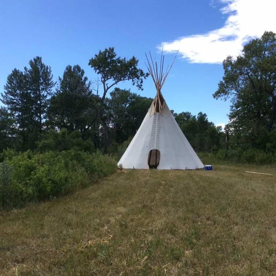 Buffalo Rock Tipi Camp